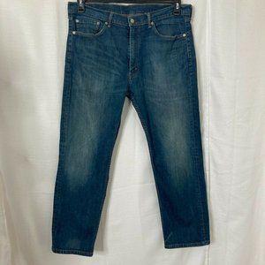 Levi's 505 Mens  Medium Wash Blue Jeans Size 38x30